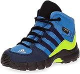 adidas Jungen Unisex-Kinder Terrex Mid GTX Trekking-& Wanderstiefel, Blau (Azretr/Maruni/Limsol 000), 27 EU
