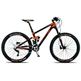 KTM Lycan 27 Elite Mountainbike, 2015, carbon schwarz matt orange RH 43
