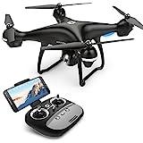 Holy Stone HS100 GPS Drohne mit 1080P Kamera HD und Live Übertragung,RC Quadrocopter ferngesteuert mit Follow Me,Auto Retun to Home,Lange...