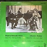 Odeon Trio , Dmitri Shostakovich , Johannes Brahms - Klavier-Trio E-Moll Op. 67 (1946) / Klavier-Trio C-Dur op. 87 (1882) - Deutsche Buch-Gemeinschaft - 64 725