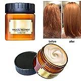 Surenhap Glattes Haar Conditioner Mask Haarpflege Magical Hair Treatment 5 Sekunden für repariert Schaden Haarwurzel, 120ml