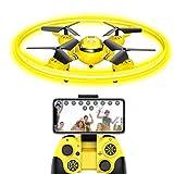 FPV Drone Drohne für Kinder mit Kamera Live übertragung und Nachtlicht,RC Quadrocopter mit Höhehalten und Gravitationssensor,Spielzeug Drohne für Kinder und...
