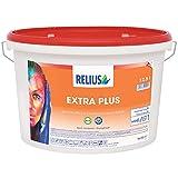 RELIUS ExtraPlus naturweiß 12,5L PROFI Innenfarbe Wandfarbe Deckenfarbe Farbe