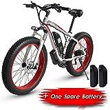 XXCY S02, elektrisches Fahrrad, 26 '' elektrisches Mountainbike, 1000W 15AH