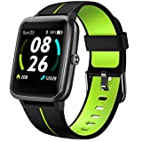 LIFEBEE Smartwatch GPS für Herren Damen, Fitnessuhr 5ATM Wasserdicht, Fitness Tracker 14 Sportmodi mit Schwimmüberwachung Pulsuhren Schrittzähler, Sportuhr...