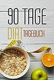 90 Tage Diät Tagebuch: 90 Tage Challenge Ernährungstagebuch und Sporttagebuch - Auch als Kalorientagebuch beim Abnehmen für Männer und Frauen geeignet