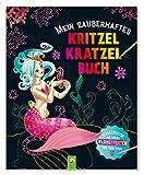 Mein zauberhaftes Kritzel-Kratzel-Buch: Kratzmotive mit tollen Farbeffekten - Mit Bambus-Stick
