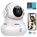 Überwachungskamera, Littlelf 1080P HD WLAN IP Kamera WiFi Kamera mit 360°Schwenkbare Baby Monitor, Zwei-Wege-Audio, Bewegungserkennung, Nachtsicht mit...