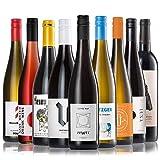 GEILE WEINE Weinpaket ALLSTARS (9 x 0,75l)   Trockener Weißwein und Rotwein im Probierpaket   Wein von Winzern aus Deutschland, Frankreich und Portugal für...