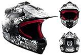 "ARMORHELMETS AKC-49 ""Black"" · Kinder-Cross-Helm · Motorrad-Helm MX Cross-Helm MTB BMX Cross-Bike Downhill Off-Road Enduro-Helm Moto-Cross Sport..."