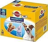 Pedigree DentaStix Daily Oral Care Zahnpflegesnack für kleine Hunde – Hundeleckerli mit Huhn- & Rindgeschmack für jeden Tag – 1 x 56 Stück