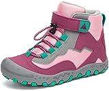 Mishansha Wanderschuhe Kinder Trekkingschuhe Mädchen Bergschuhe Outdoor Sport Kinderschuhe Wanderstiefel Stil: 2 Violett Gr.32