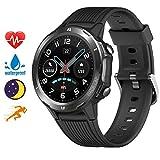 Blackview Smartwatch, Sportuhr Touchscreen Fitnessuhr mit Pulsuhr Fitness Tracker 5ATM Wasserdicht Smart Watch mit Schrittzähler, Schlafmonitor Stoppuhr für...