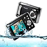 """Vmotal wasserdichte Digitalkamera 1080P FHD / 12 MP / 2,31"""" TFT-LCD-Bildschirm/wiederaufladbare Unterwasserkamera für..."""