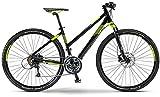 Staiger Idaho Damen-Crossrad 27-Gang Shimano Deore Kettenschaltung schwarz/Lime (Rahmenhöhe 44)