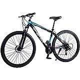 TRGCJGH Mountainbike MTB-Fahrrad - 29 Zoll Herren Alloy Hardtail Mountainbike Mountainbike Mit Verstellbarer Vorderradaufhängung,B-21Speed