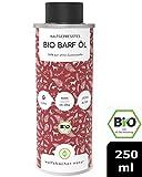Bio Barf-Öl für Hunde und Katzen, Mit Vitamin E aus 6 verschiedenen Ölen - Omega 3 6 9 Öl aus kontrolliert biologischem Anbau, DE-ÖKO-60 (250ml)