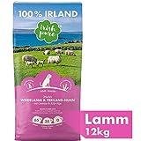 Irish Pure Adult Weidelamm & Freiland-Huhn mit Kelp-Alge - Premium Trockenfutter für Hunde, Hoher Fleischanteil, Getreidefrei, Sensitiv, Hundetrockenfutter,...
