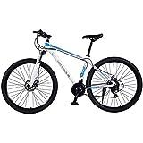 TRGCJGH Mountainbike MTB-Fahrrad - 29 Zoll Herren Alloy Hardtail Mountainbike Mountainbike Mit Verstellbarer Vorderradaufhängung,A-24Speed