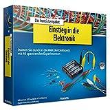 Franzis 65196 Einstieg in die Elektronik, 20 Bauteile, Prüfkabel, CD ROM und Experimentieranleitung, bunt