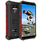 OUKITEL WP5 Pro Outdoor Handy, 4G Dual SIM IP68 Outdoor Smartphone Ohne Vertrag, 8000mAh Akku, 4GB + 64GB, Android 10 Handy Global Version 5,5 Zoll Triple...