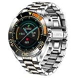 LIGE Herren Smart Watch, IP67 wasserdichte Fitness Tracker Uhren mit Herzfrequenz Blutsauerstoff Blutdruck Überwachun Voll Touchscreen Outdoor Smartwatch...