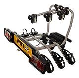Witter Towbars ZX303EU Fahrradträger für die Anhängerkupplung - Kupplungsfahrradträger für 3 Fahrräder abklappbar - Heckträger inkl. 7- bzw. 13-poligem...