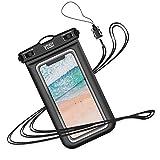 YOSH wasserdichte Handyhülle 6,8 Zoll Unterwasser Wasserfeste Handy Wasserschutzhülle Handytasche wasserdicht Schwimmen fürs iPhone 11 Pro XS Max XR X 8 7,...