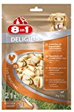 8in1 Delights Chicken, gesunder Hunde-Kauknochen mit hochwertigem Hähnchenfleisch eingewickelt in Rinderhaut, versch. Größen für kleine, mittlere und große...