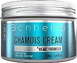 BCNHEMP Chamois Creme und Rescue Gel Set gegen Wundscheuern, Hautpflege für Fahrrad Fahren, Sportcreme Hanf infundiert, entzündungshemmend für Sportlerinnen,...