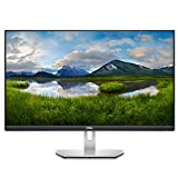 Dell S2721D, 27 Zoll, QHD 2560 x 1440, 75 Hz, IPS entspiegelt, 16:9, AMD FreeSync, 4 ms (extrem), neigbar, int.Lautspr., VESA, DisplayPort, HDMI, 3 Jahre...