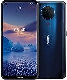 Nokia 5.4 Smartphone mit 6,39-Zoll-HD+-Display, 4 GB RAM, 128 GB Speicher, 48-MP-Vierfach-Kamera, Qualcomm Snapdragon 662, 2 Tagen Akkulaufzeit und...