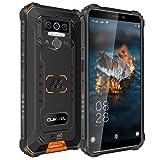 OUKITEL WP5 Pro (2021) Handy Android 10.0 8000 mAh Akku Rugged Smartphone 4GB+64GB IP68 Mobiles, 4G Dual-SIM, 3 Kameras, 4 LED-Blitz, Freischaltung OTG, GPS...