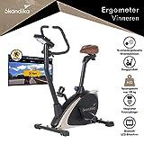 skandika Ergometer Design-Hometrainer Vinneren, Auswahl aus verschiedenen Sätteln, Magnetbremssystem, 11 kg Schwungmasse, 12 Trainingsprogramme,...