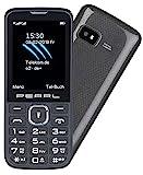 simvalley MOBILE Handys: Dual-SIM-Handy mit 6,1-cm-Display (2,4'), Bluetooth, FM, Vertrags-frei (Dual SIM Handy mit Kamera)