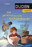 Duden Leseprofi – Die geheimnisvolle Schatzkarte, 1. Klasse: Kinderbuch für Erstleser ab 6 Jahren (Lesen lernen 1. Klasse, Band 1)