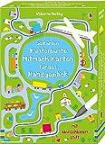 50 Karten: Kunterbunte Mitmach-Karten für das Handgepäck: mit abwischbarem Stift