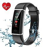 CHEREEKI Fitness Armband, Fitness Tracker Wasserdicht IP67 Aktivitätstracker Schrittzähler Fitness Uhr Schlafmonitor Kalorienzähler Anruf Nachricht...