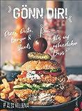 Gönn Dir! Pizza, Pasta, Burger & Sweets. Alles auf pflanzlicher Basis. Das Plant Based Kochbuch für die vegane Wohlfühlküche. Perfekt auch für Flexitarier....