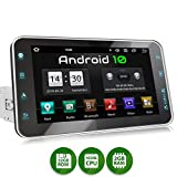 XOMAX XM-VA801 Autoradio mit Android 10, QuadCore, 2GB RAM, 32GB ROM, 8 Zoll / 20,3cm Touchscreen, GPS Navigation I Support: WiFi WLAN, 3G 4G, DAB+, OBD2 I...