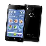 Switel eSmart M2 Smartphone (Dual-SIM, LTE, 3200mAh Akku mit SOS Notruftaste, lauter Klingelton und Hörerlautstärke, Hörgerätekompatibel, 12,7 cm (5 Zoll))...