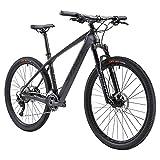 SAVADECK Mountainbike Carbon,DECK5.0 27.5 29 Zoll Radsatz Kohlefaser Rahmen MTB Hardtail XC MTB mit Shimano M5100 Gruppenset und Continental Reifen Damen Herren...