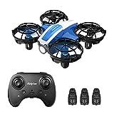 Holyton Mini Drohne HS330 für Kinder RC Quadrocopter ferngesteuert mit 3 Akkus Lange Flugzeit,Handsensor,Höhenhaltung,Kopflos Modus,3D Flip und 3...