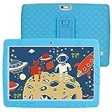 SANNUO Kinder Tablet 10 Zoll, Android 10.0 3GB RAM 32GB ROM, 3G Dual SIM,1280 * 800 IPS Display,2MP+5MP Kamera,GPS, WiFi,Bluetooth,Tablet für Kinder mit...