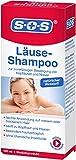 SOS Läuse-Shampoo, zuverlässige Befreiung von Kopfläusen und Nissen, besonders hautverträgliches Läuse Shampoo mit kurzer Einwirkzeit und natürlichem...