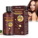 Haarwachstum Shampoo, Haarausfall Shampoo, Anti Haarverlust Shampoo, Shampoo Gegen Haarausfall, Hair Growth Natürliches Kräutershampoo für schnelleres...