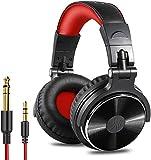 OneOdio Over Ear Kopfhörer mit Kabel Geschlossene Studiokopfhörer mit Share Port Mikrofon Adapter-frei Professionelle Bass DJ Headphones für Podcast,...