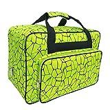 Wasserdichte Nylon-Nähmaschinentasche, Aufbewahrungstasche für Reisen, tragbare Nähmaschinen-Handtaschen mit Taschen und Griff für die meisten...