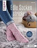 Edle Socken stricken (kreativ.kompakt.): Kuschelmomente für kleine und große Füße. Mit 2 Geschenkbanderolen