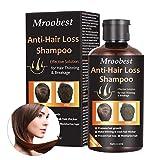 Haarshampoo, Haarwachstums Shampoo, Anti-Haarverlust Shampoo, Effektiv gegen Haarausfall, Regenerierend, Wachstumsfördernd, Behandlung für Haar, Wachstum für...